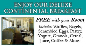 Augusta Maine Hotel Free Deluxe Continental Breakfast
