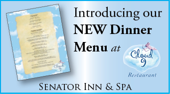 New Dinner Menu at Cloud 9 Restaurant