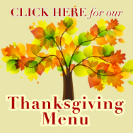 Thanksgiving Augusta Maine Menu