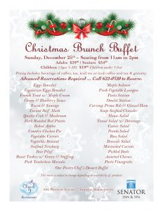 Augusta Maine Christmas Buffet