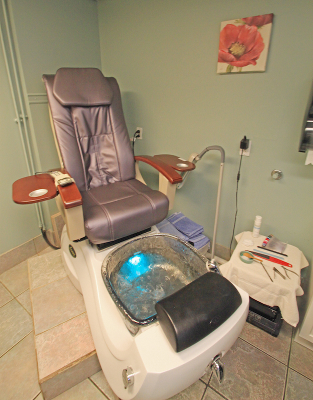 Manicures and Pedicures at the Senator Inn & Spa in Augusta Maine