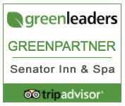 Senator Inn & Spa TripAdvisor Green Leader