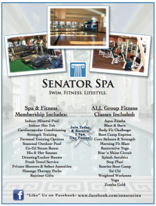Fitness Membership Includes